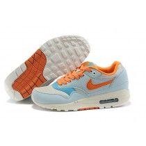58,80 €  http://www.airmaxfemmein2014.com/nike-air-max-87-creme-orange-clair-bleu-clair-couleur-50idi1