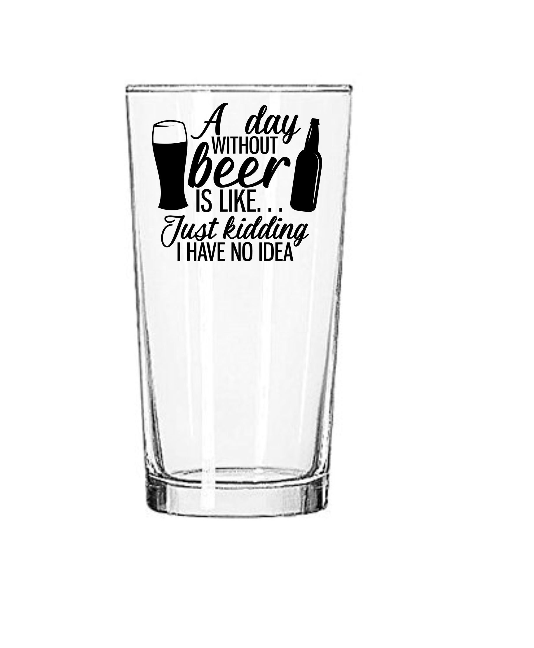 Beer Stein Voices Ideas Funny Novelty Christmas Birthday Frosted Pint Glass Fine Craftsmanship Bar Tools & Accessories