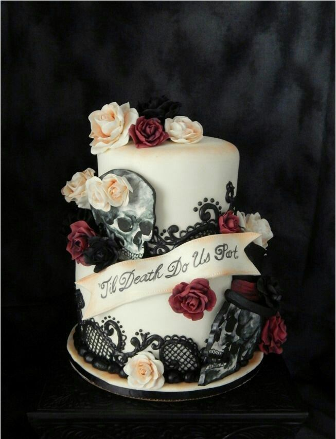 Awesome Gothic Birthday Cake ABRAs Awesome Torte