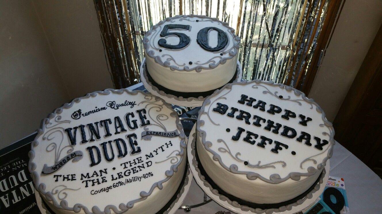 Pleasing Vintage Dude 50Th Birthday Cake With Images Birthday Cakes For Funny Birthday Cards Online Kookostrdamsfinfo