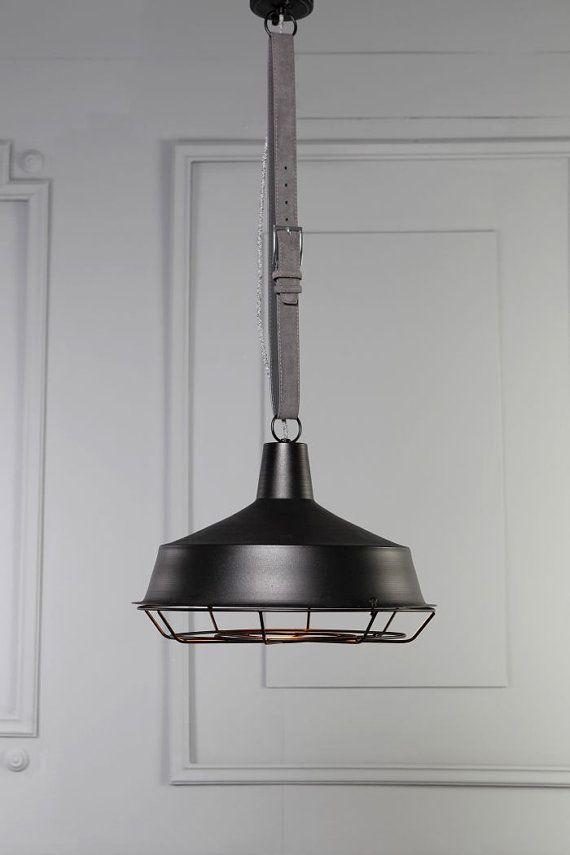 restoration industrial pendant lighting. PARIS Handmade Pendant Light Chandelier Edison Restoration Industrial Style Cage Leather Lighting A
