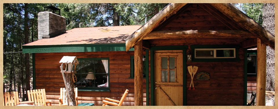 snow jay sunflower lake rose cabins rentals in pine arrowhead blue rental cabin