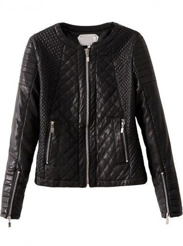 41984b295e76d chaquetas de cuero acolchadas