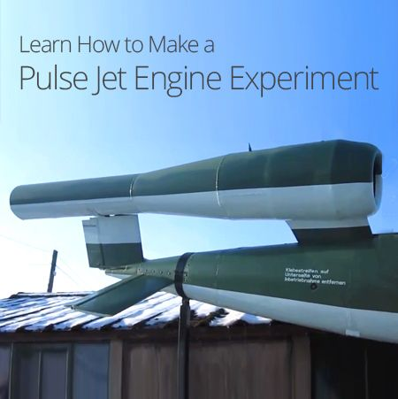 how to make a pulse jet