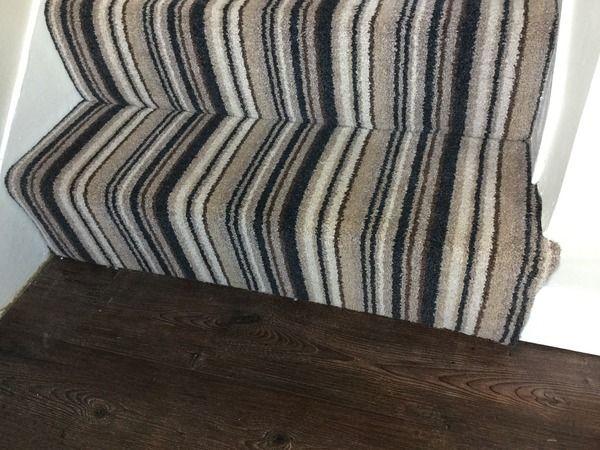 Darker Strips Less Successful Against Dark Wooden Floor