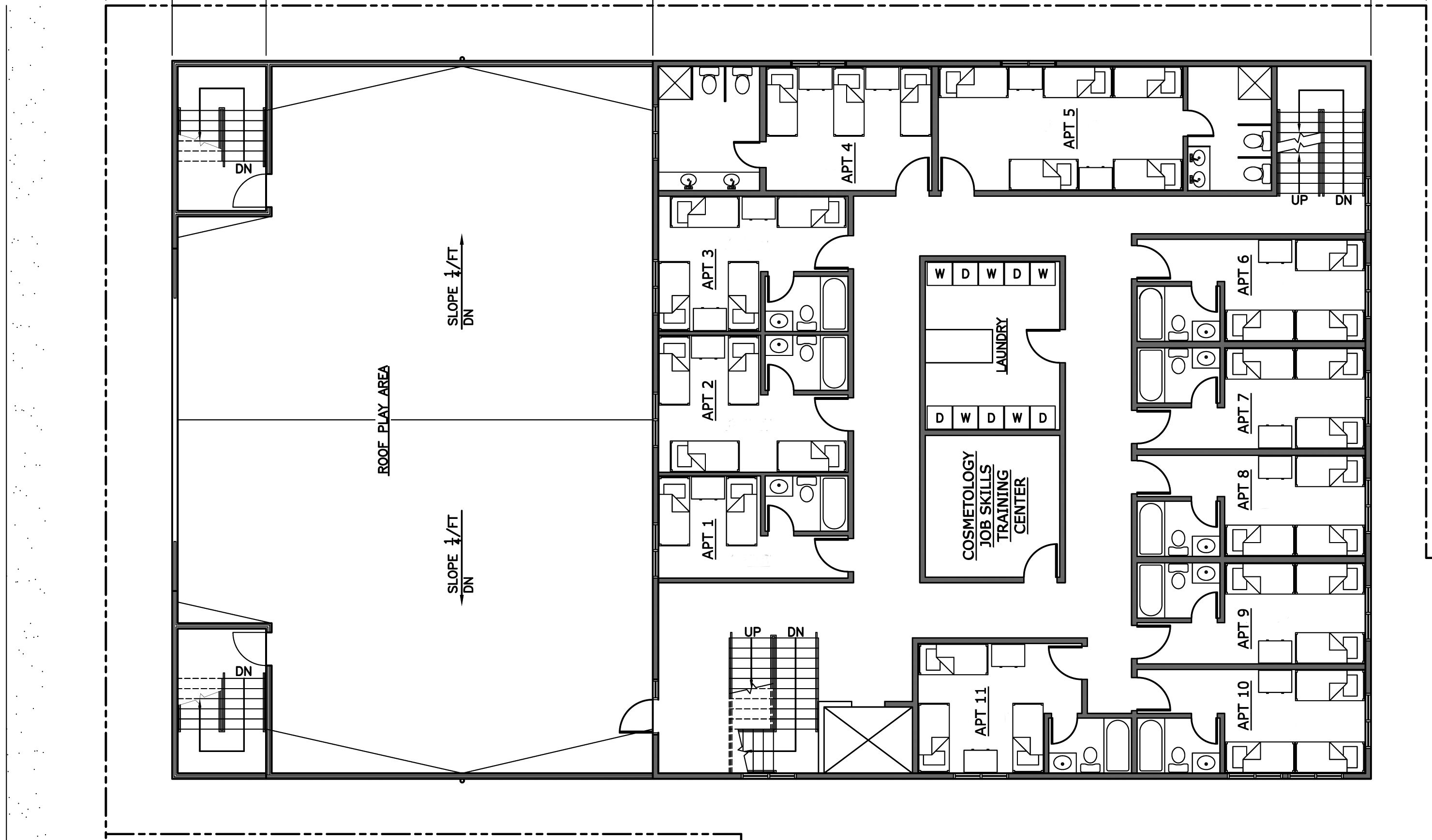 Architectural Plans For The Second Floor Blueprint Notation Plan Architecture Plan Architecture House Design