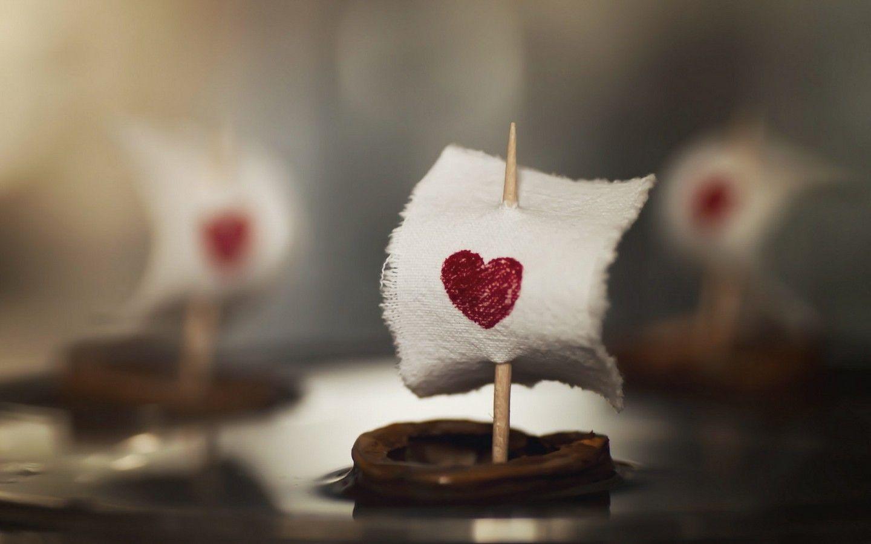 Обои сердце, профиль, ночь. Разное foto 12