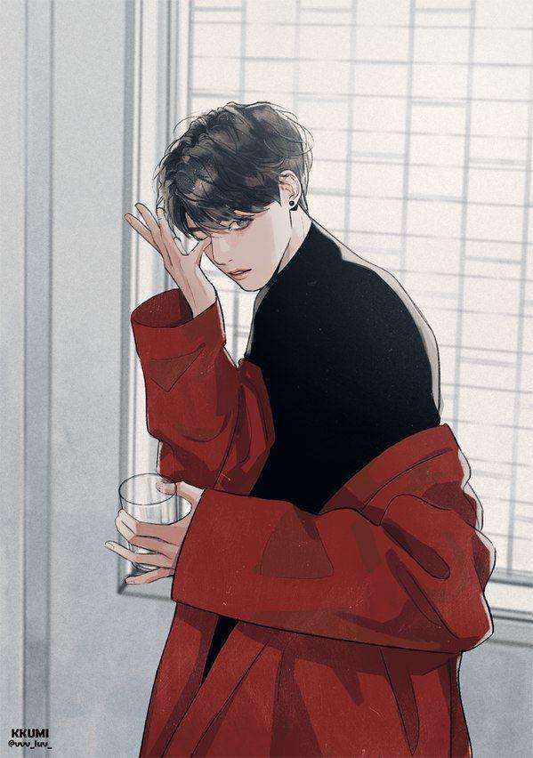 Jungkook from Bts K-POP ART Pinterest BTS, Fanart and Kpop