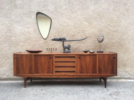 cool enfilade scandinave johannes andersen palissandre. Black Bedroom Furniture Sets. Home Design Ideas