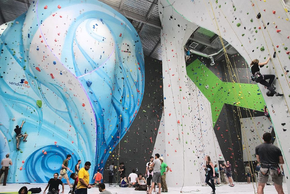 The Coolest Indoor Climbing Gyms in the