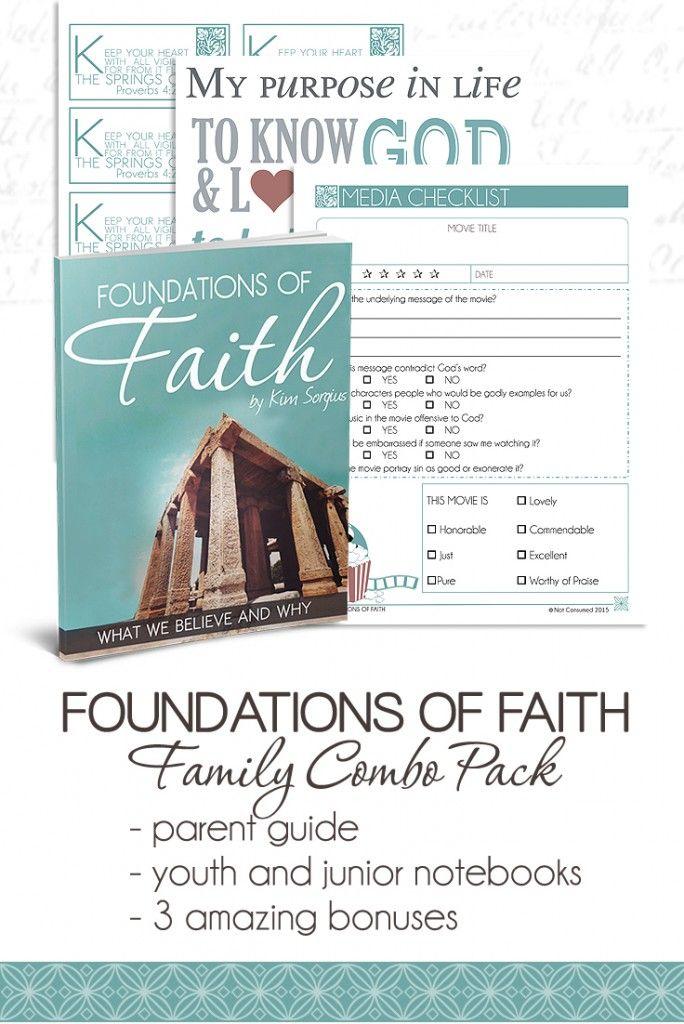 Foundations of Faith Bonus pin