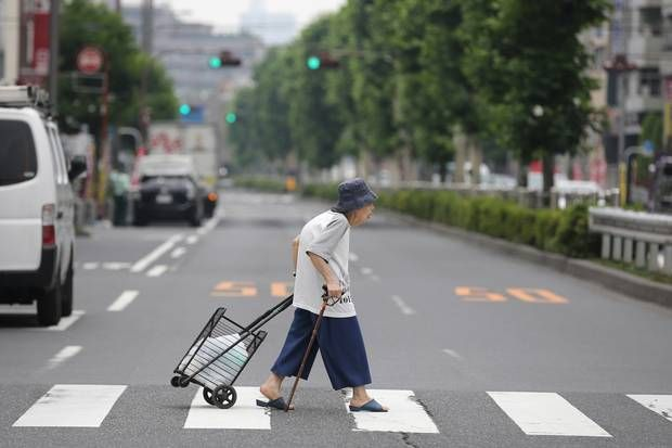 People over the age of 65 make up a quarter of Japan's population, and it's on track to reach 40 per cent. Now the country is tackling the problem with innovative programs, including everything from comprehensive long-term-care insurance to robotics.