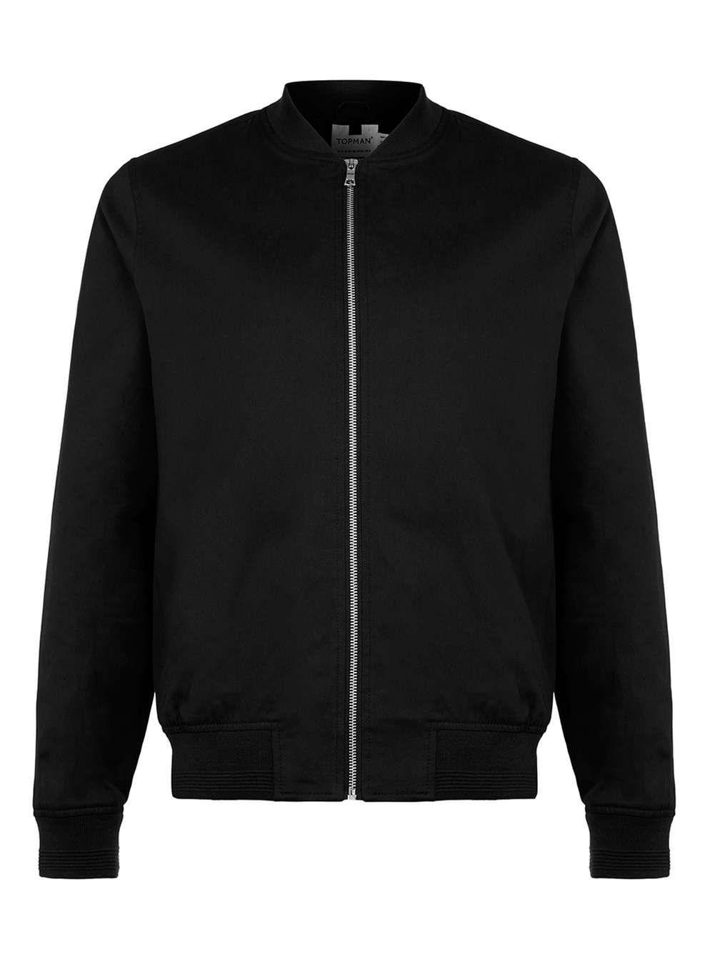 Black Cotton Bomber Jacket Men S Jackets Coats Clothing Mens Jackets Bomber Jacket Men S Coats Jackets [ 1350 x 994 Pixel ]