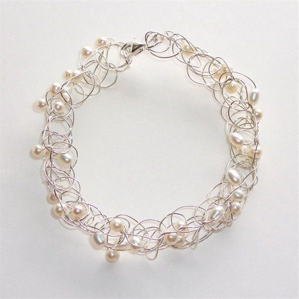 crotcheting with wire | Wire Crochet Jewelry (5) | Crafts - Crocheting - Jewelry