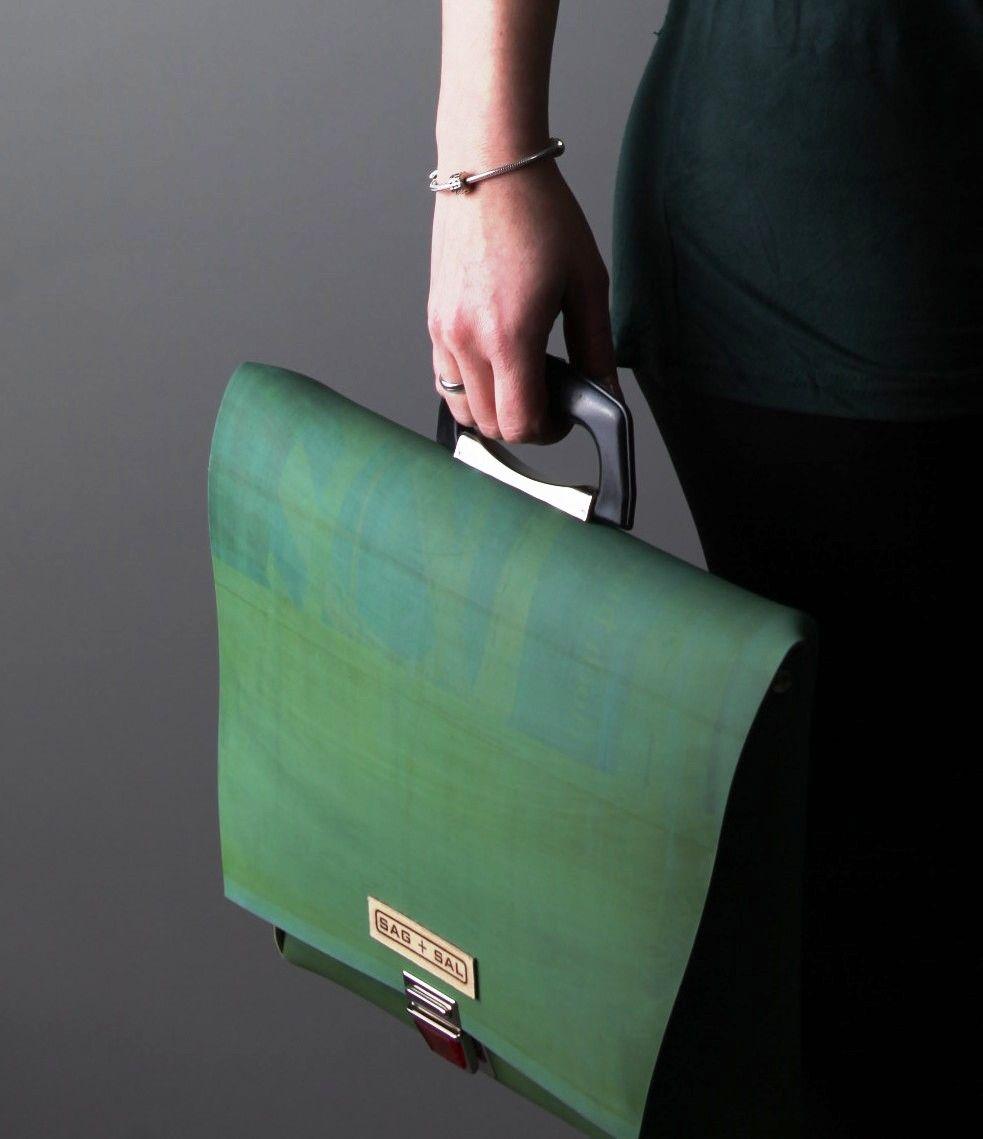 Sag Berlin sag sal office l used printing blanket bags upcycling made in berlin