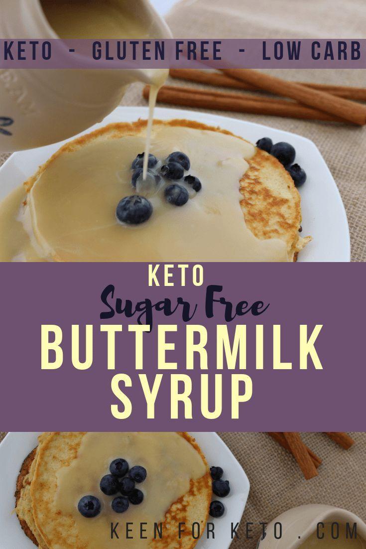 Keto sugar free buttermilk syrup recipe buttermilk