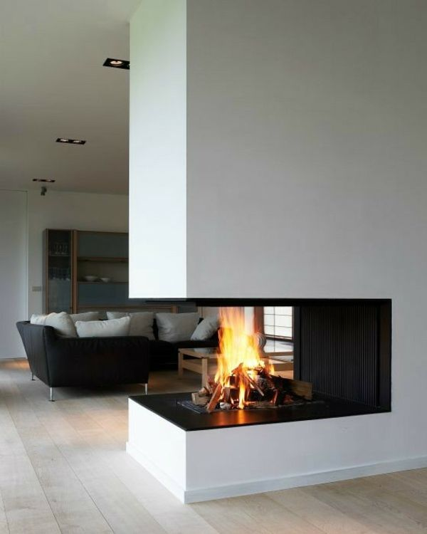 60 Idees Cheminee Pour Une Chambre Chaleureuse Modern Family Rooms Home Fireplace Fireplace Design