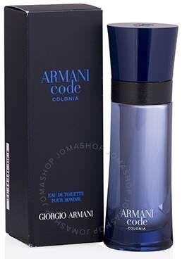 071ddb628 Giorgio Armani Code Colonia by EDT Spray 2.5 oz (75 ml) (m ...