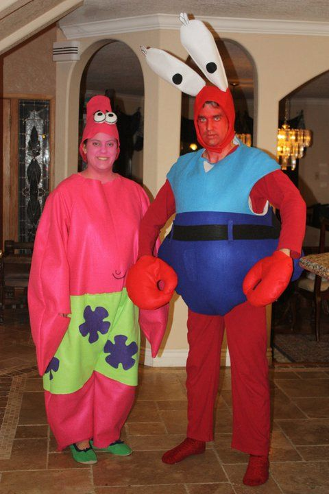 2010 sponge bob patrick and mr krabbs my halloween