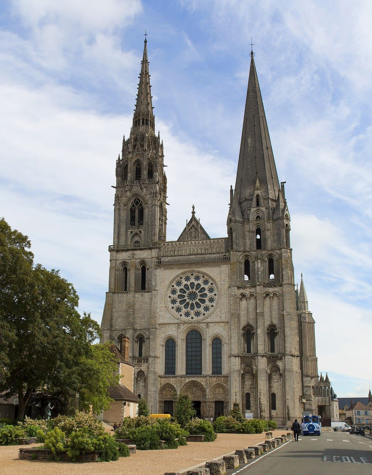 Chartres Cathedral Chartres France Chartres Famous Buildings Cathedral