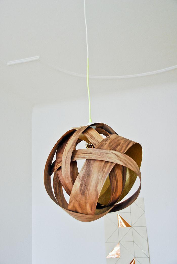 Veneer Pendant Lamp DIY | Funkytime | TEE ISE spoonist ...