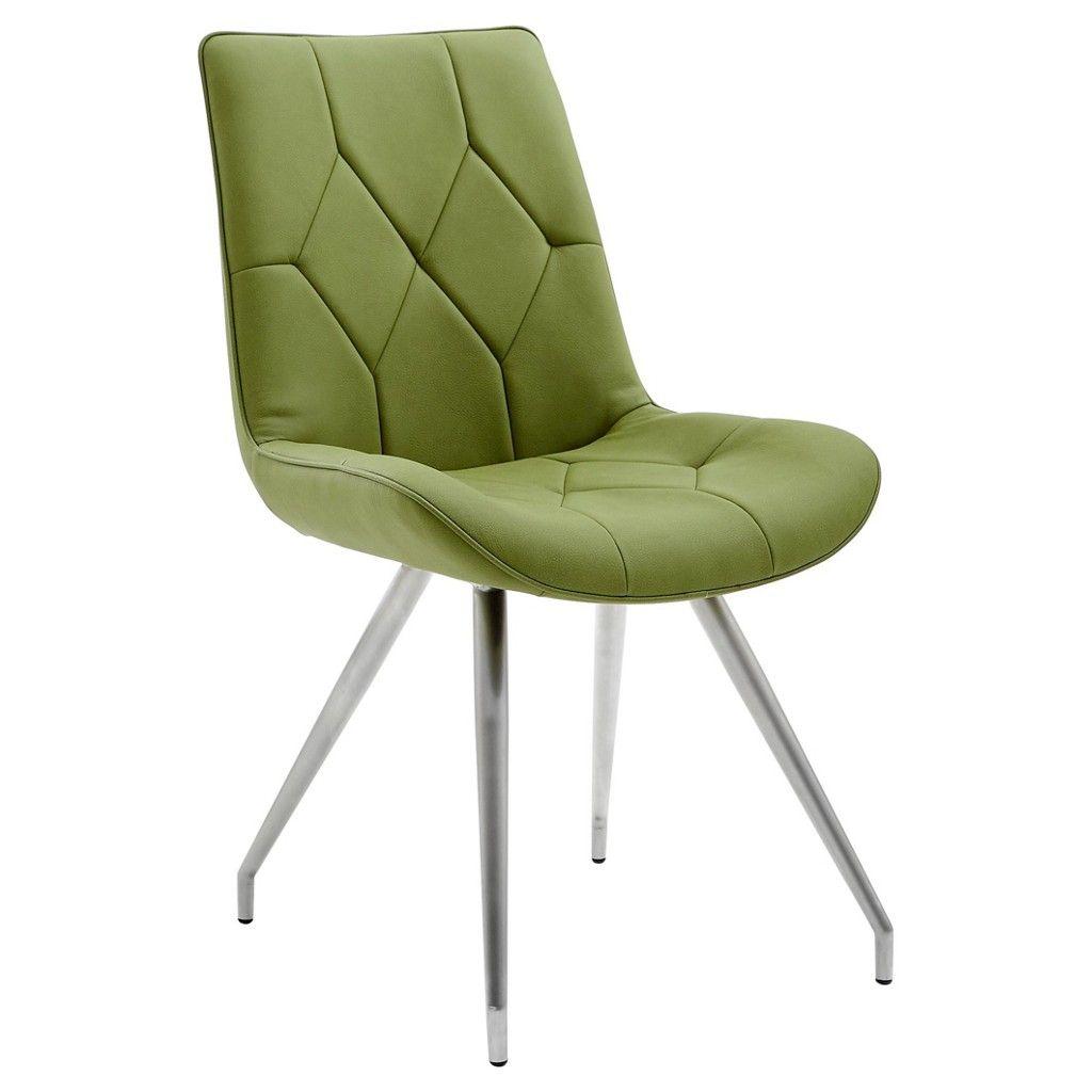 novel stuhl edelstahl silber gr n jetzt bestellen unter. Black Bedroom Furniture Sets. Home Design Ideas