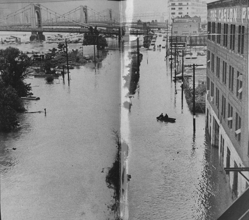 The Digs: Pittsburgh Post-Gazette Hurricane Agnes Turned