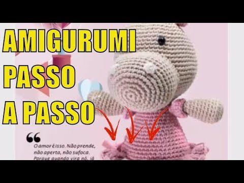 Amigurumi Croche Passo a Passo,Bichinhos de croche, Amigurumi Gráficos | Receitas em Português