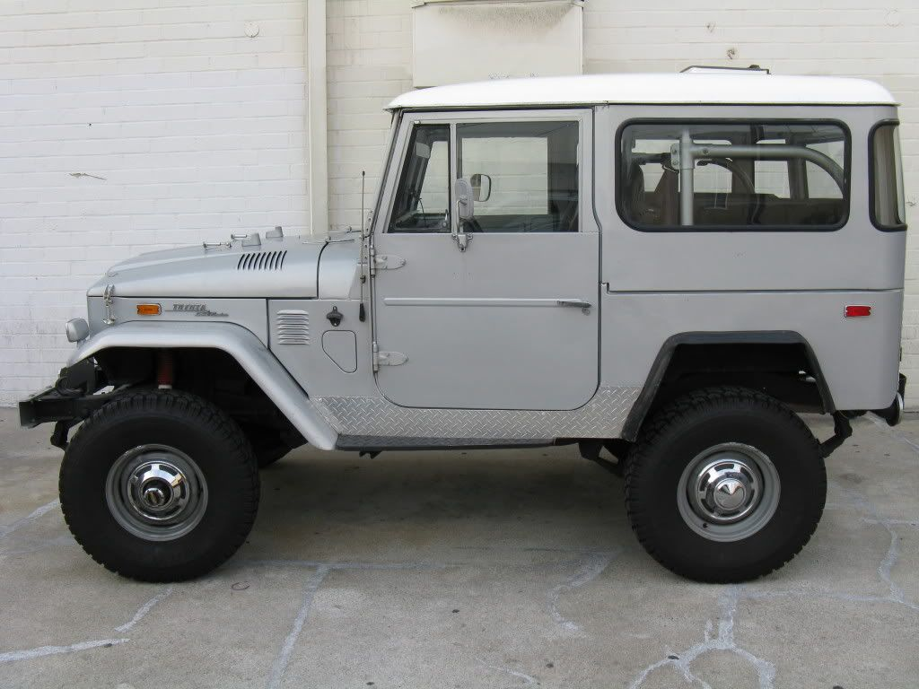 For Sale 1973 Land Cruiser Fj40 With Chevy 350 Land Cruiser Fj40 Cruisers