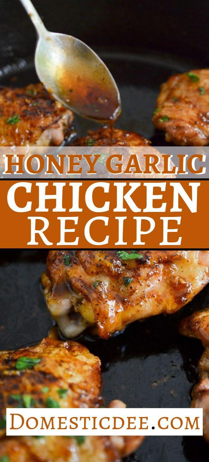 Honey Garlic Chicken images