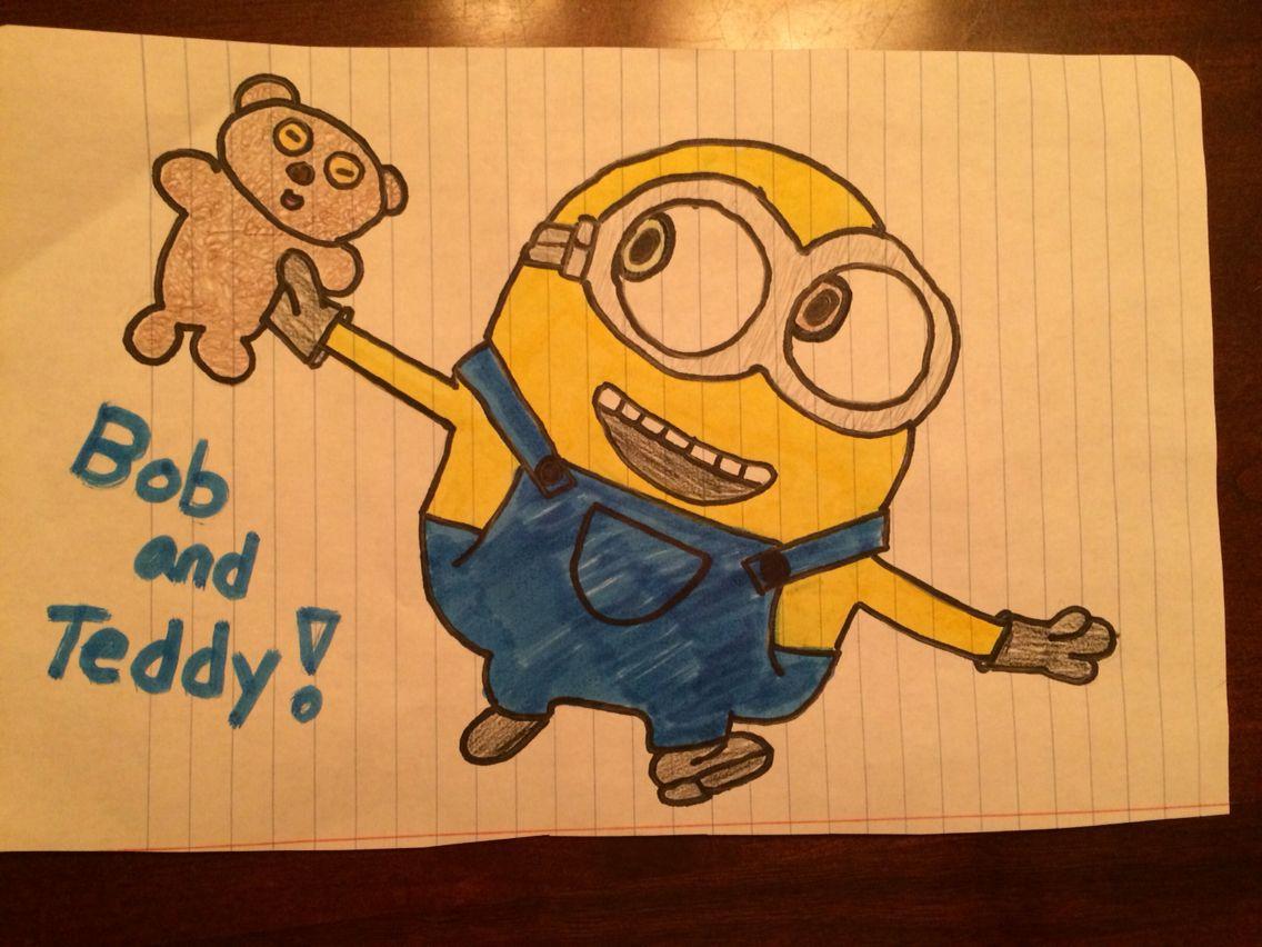 minion bob and his teddy bear  minions bob teddy bear