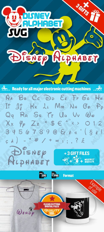 201 Pingl 233 Par Svg Monster Sur Alphabet Silhouette Mickey