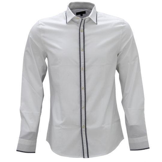 Shirtacy Formal White Shirt with Black Patch by Shirtacy HKD$249 #formalshirts #businessattire #workshirt #mensfashion #menswear #hk #hongkong #onlinestore #onlineshopping #hkshop #stylish #patch #shirtacy