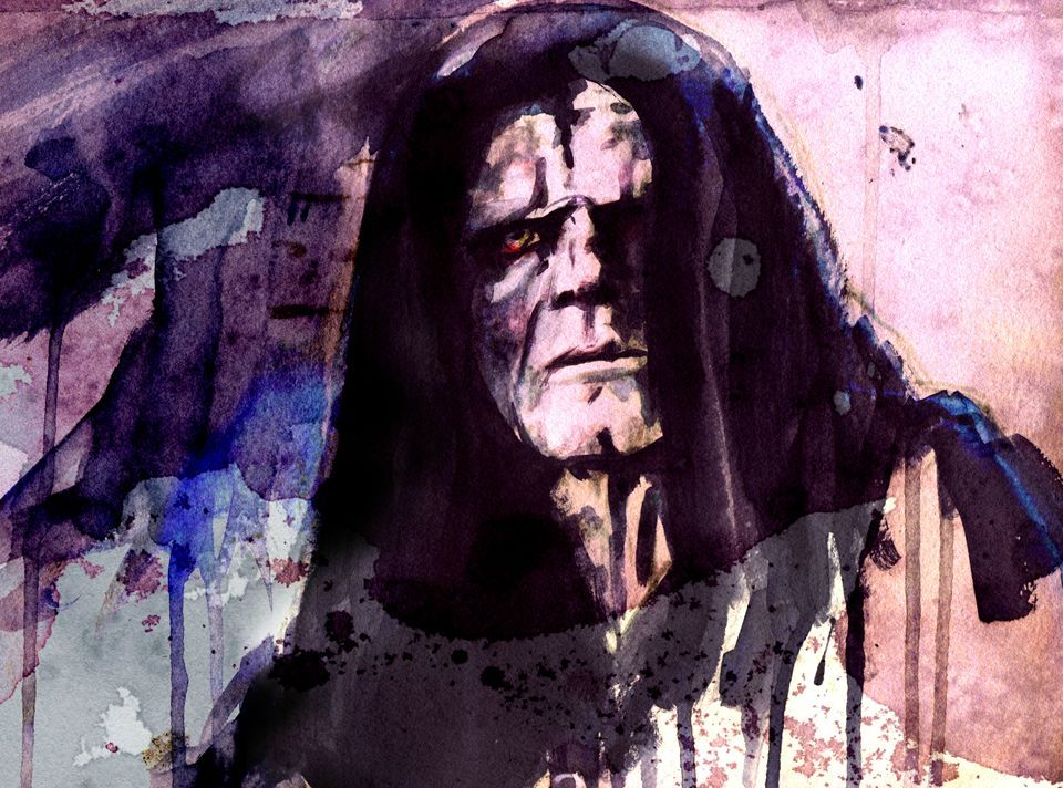 Palpatine - Star Wars Paintings by Terry Cook