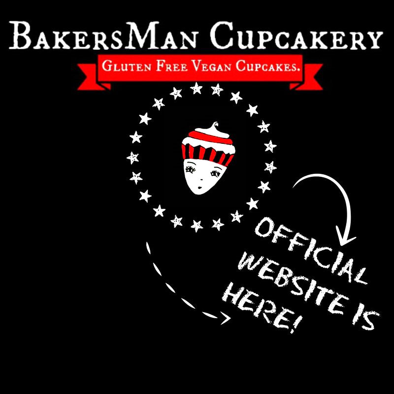 Hamilton's Newest GF Vegan Cupcakery is now open for business. Check out the new website www.bakersmancupcakery.com! and the blog,  zucchiniontheceiling.com :)