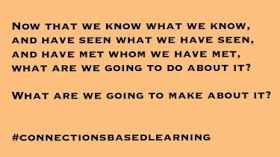 Connections-based Learning: Doing something beyond ourselves