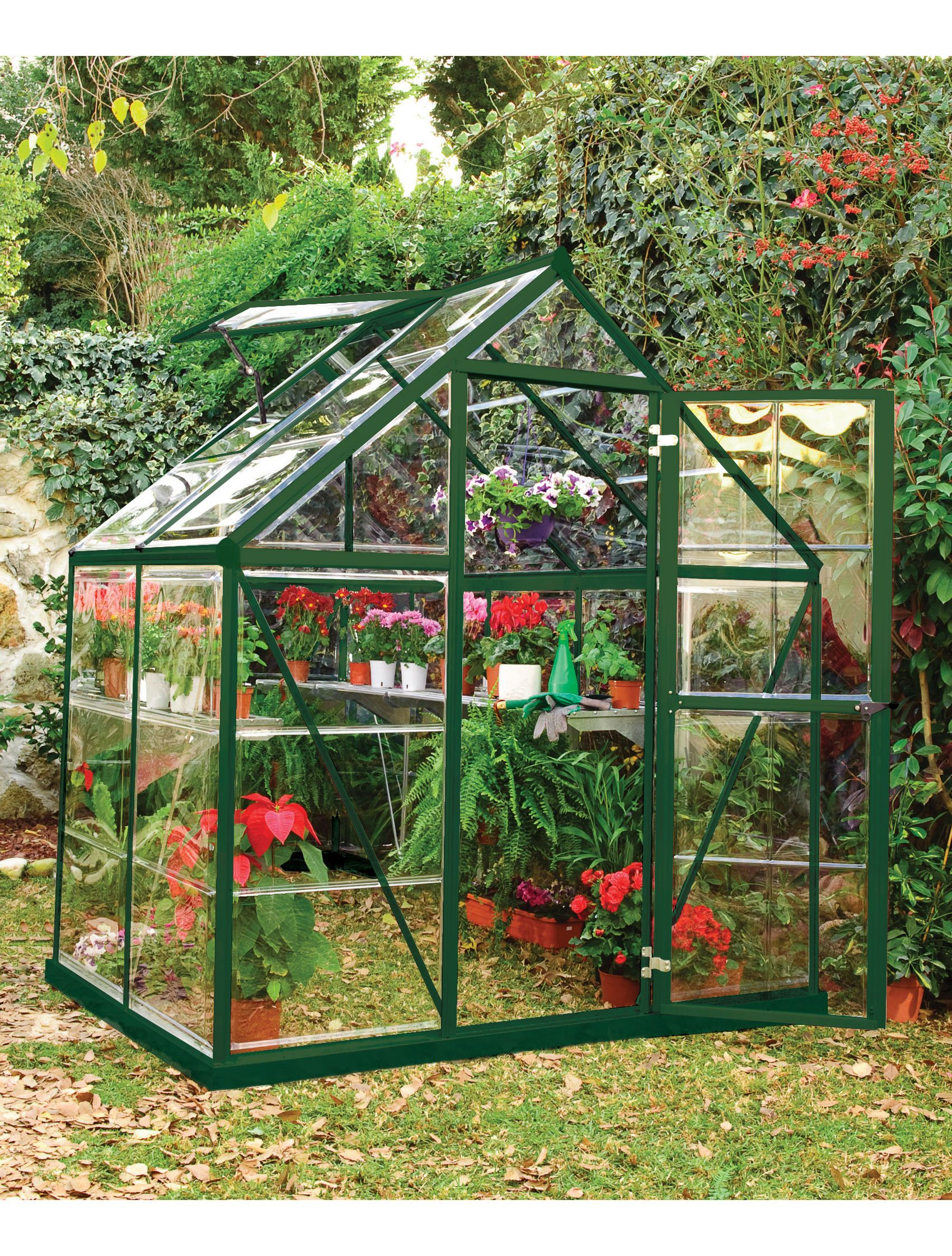 Small Harmony Greenhouse Kit Polycarbonate With