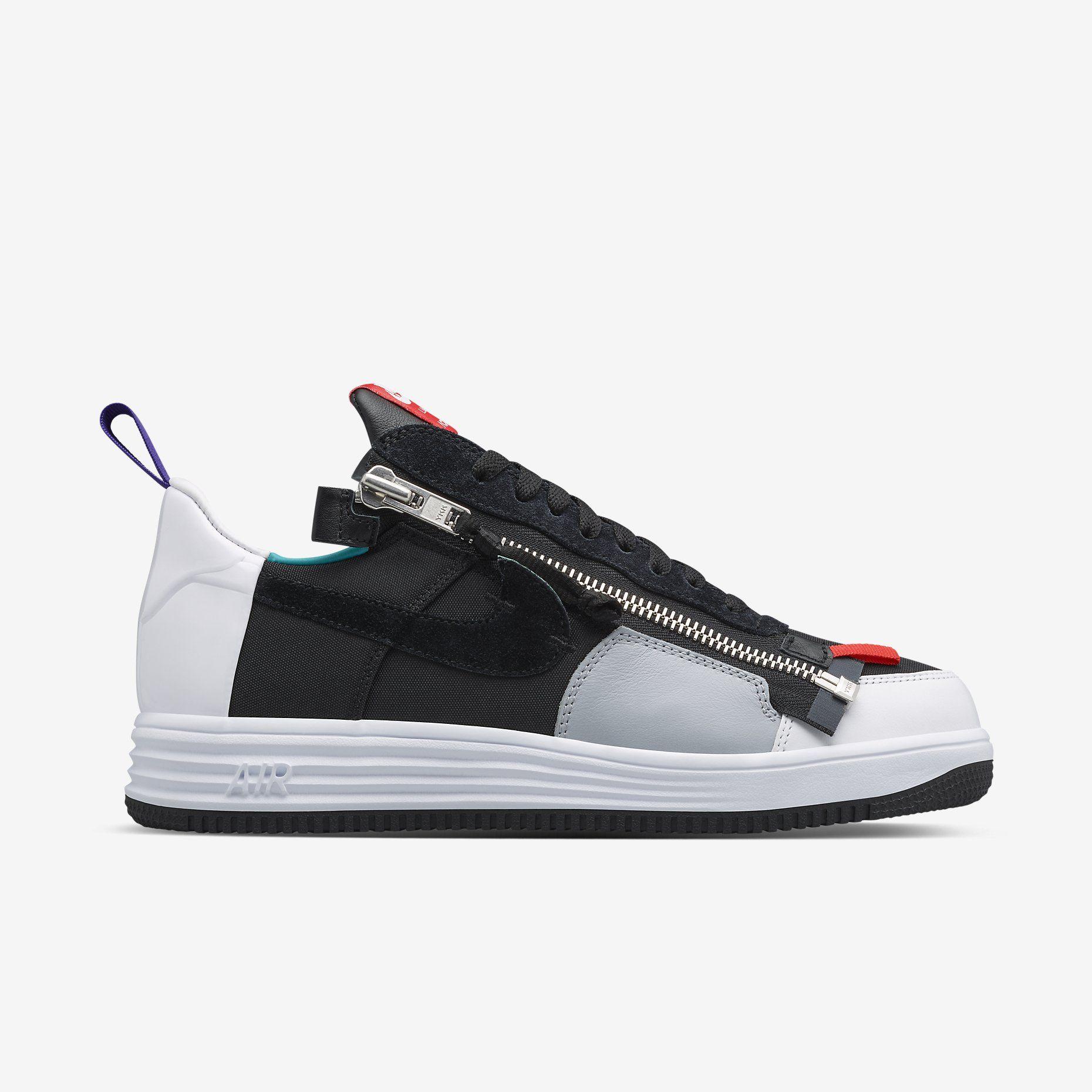 Nike X Acronym Lunar Air Force 1 White Low