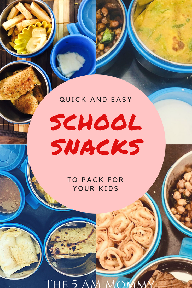 quick school snack recipes to pack for your kids - back to school