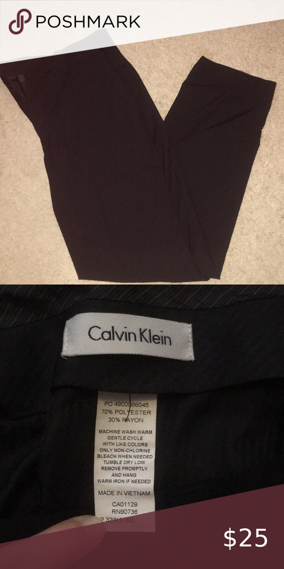 Calvin Klein Mens Dress Pants⭐️ Calvin Klein Mens