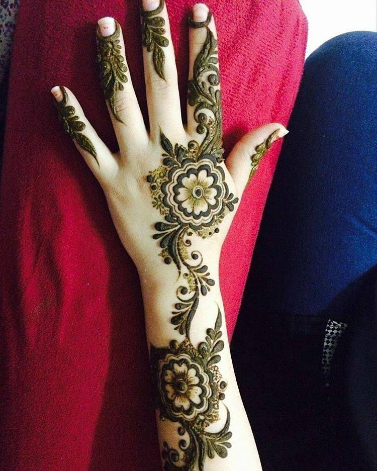 Fresh Mehndi Design Image For Full Hands Mehndi Design