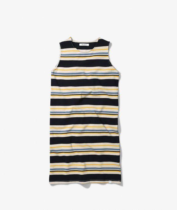 Jarna Multi stripe dress - by Norse Project