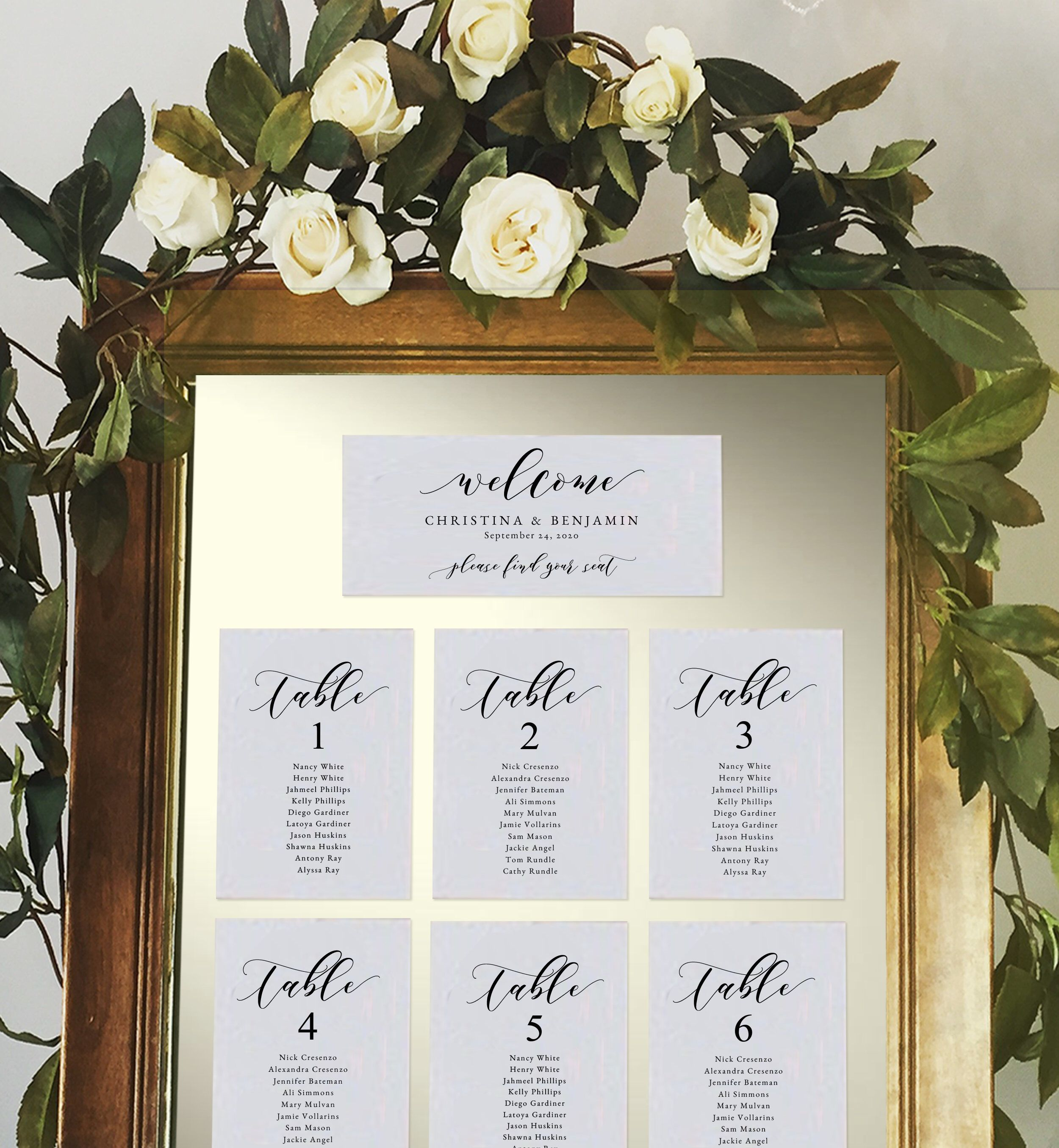 Wedding Seating Chart Cards Seating Card Template Etsy Seating Chart Wedding Wedding Seating Cards Seating Chart Wedding Diy
