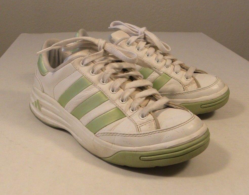 Adidas Ilie Nastase Women's Size 7.5 M Leather White Green