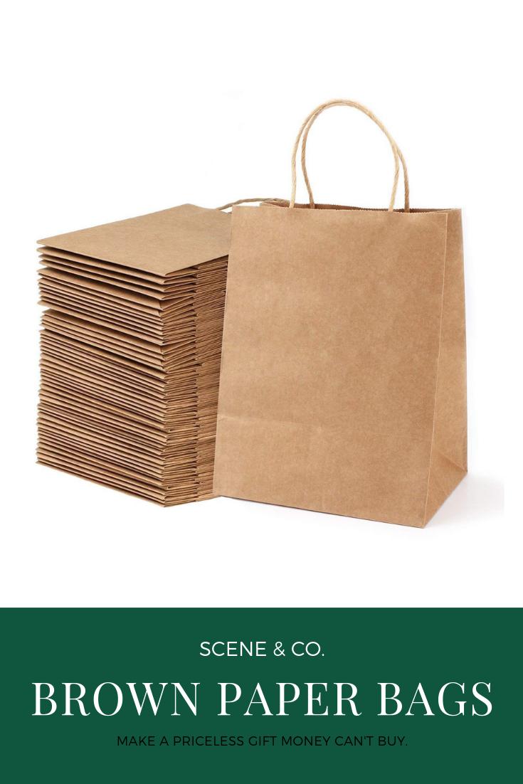 Brown Paper Bags Gift Bags Brown Paper Bag Paper Gift Bags Paper Bag