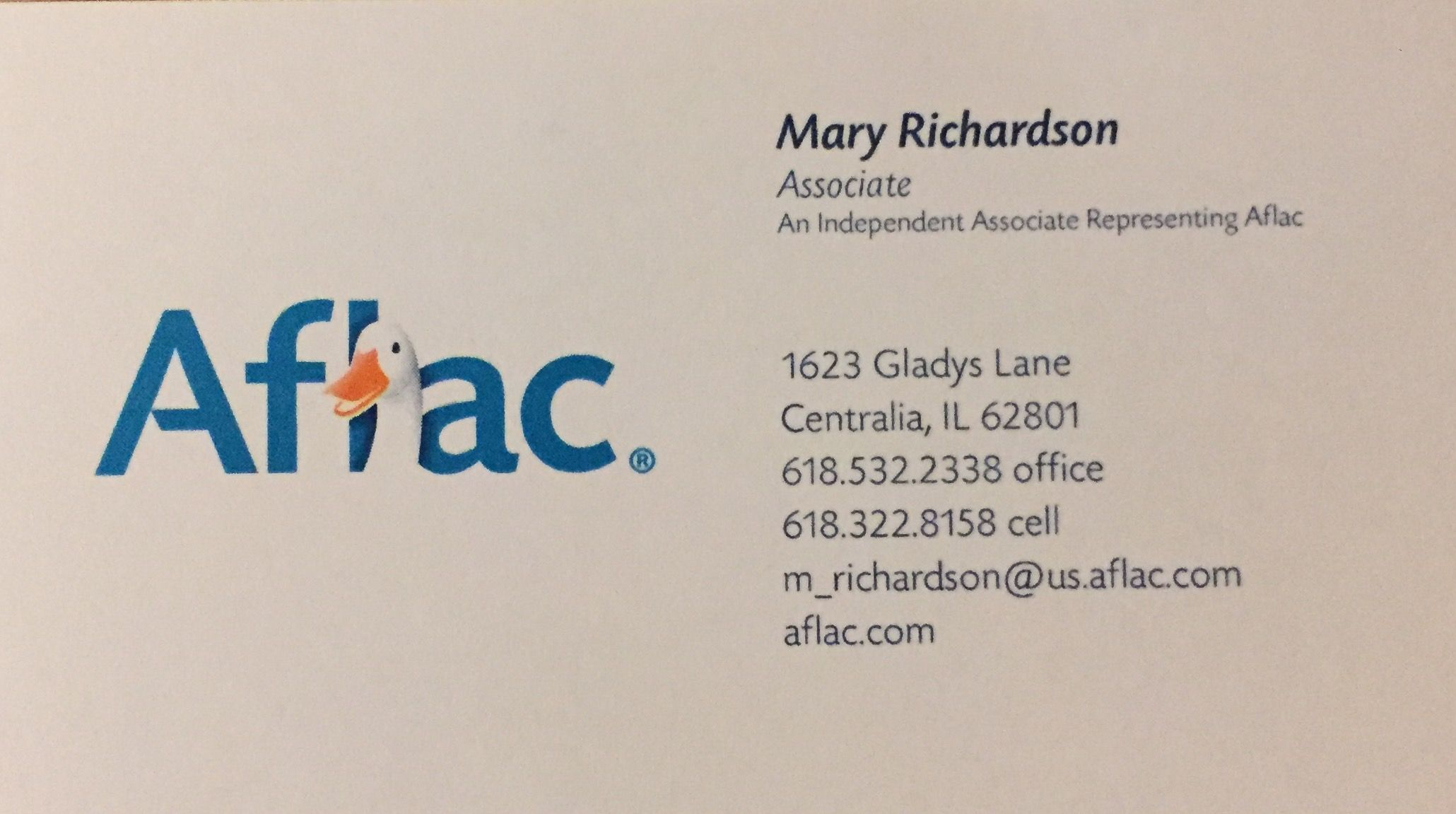 Hi Everyone I Am An Aflac Agent Call Me Anytime For Questions About Our Supplemental Insurance If I Am Not Available This Or That Questions Aflac Centralia