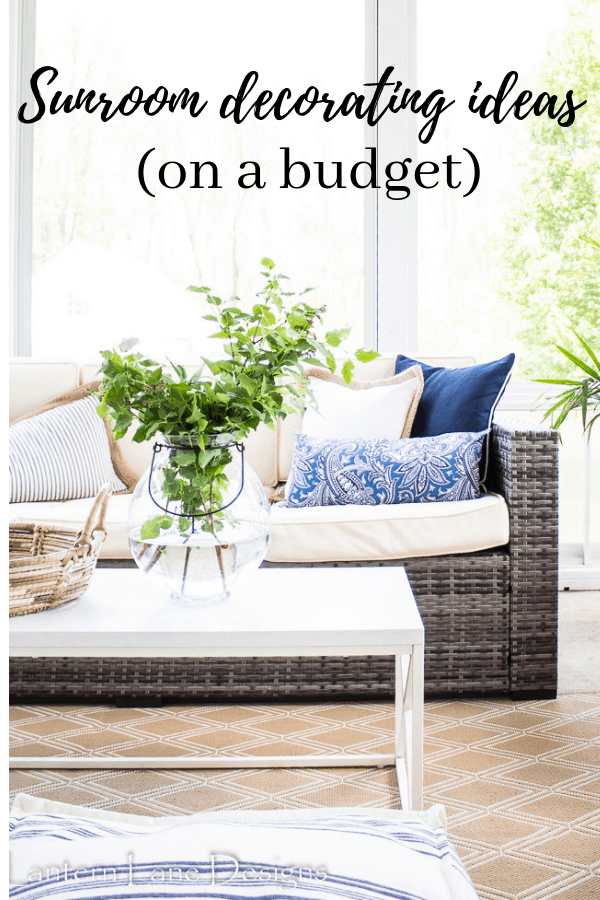 Sunroom Ideas On A Budget