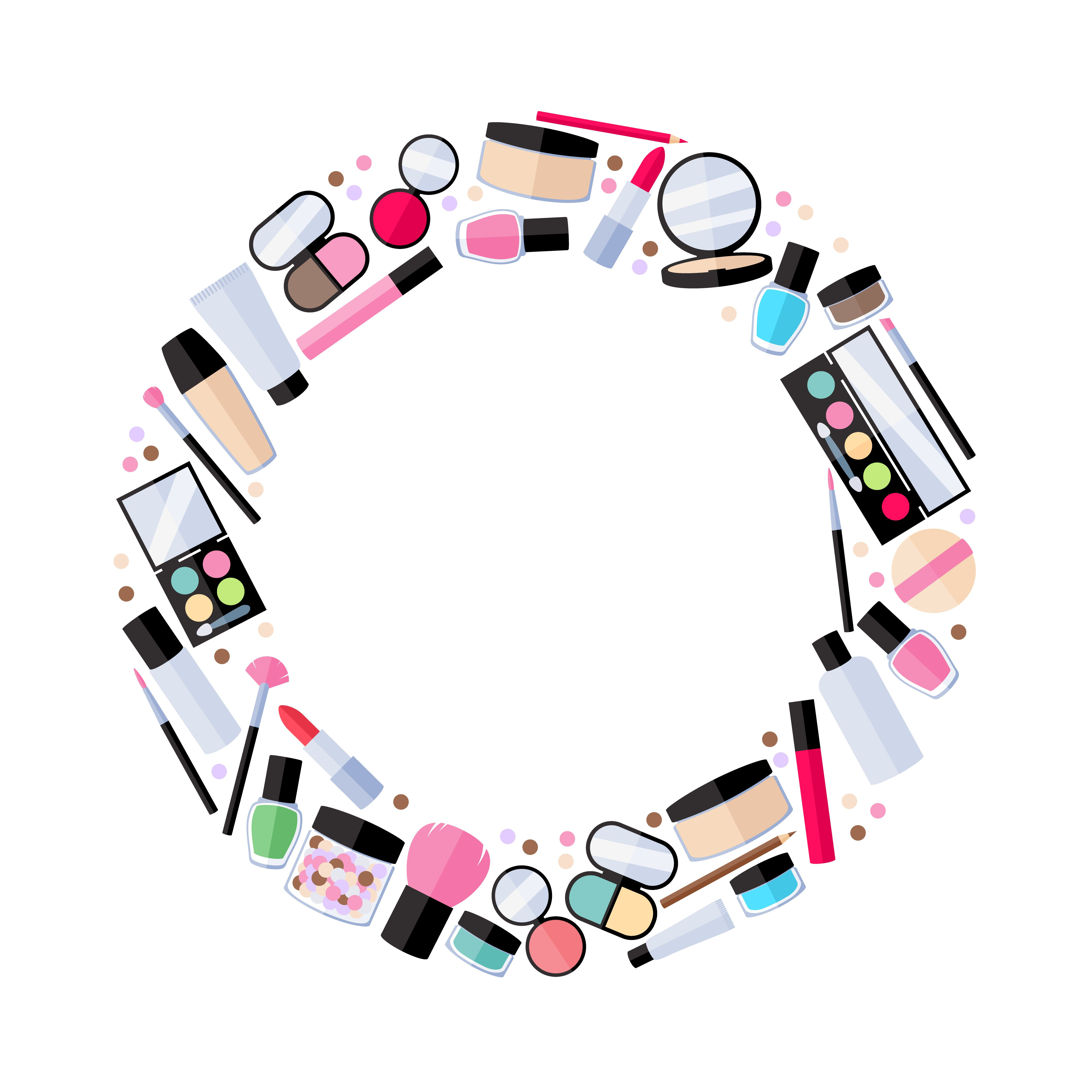 Making Up with Makeup Makeup clipart, Frame clipart