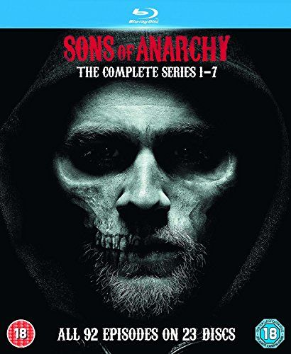 The Complete Collection Of Episodes Of The Popular Us Biker Drama The Story Follows The Lives Of The Samcro Crew As They Find Sons Of Anarchy Blu Ray Anarchy