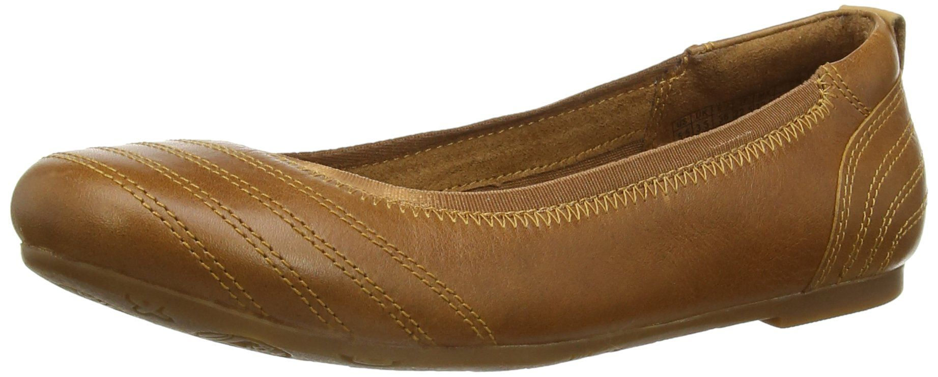 cd1a5d6bc53 Timberland Womens EK Ellsworth Stitch Ballet Flat Buckthorn Brown 7 M US      Click image for more details. (This is an affiliate link)   ...